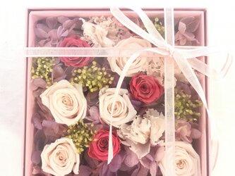 FlowerBox カレ  ピンク001の画像