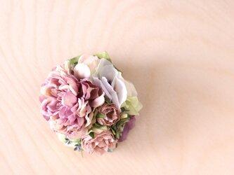 コサージュ 春のピンクラナンキュラスの画像