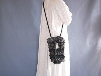 指編みbag(woolmix) dの画像