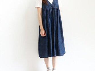 児島デニムのジャンパースカートの画像