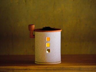【予約販売】茶香炉(煙突おうち)- ミニ(シロ)※抗菌や消臭、風邪予防にも◎の画像