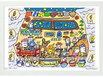 Snow house (A4frame)の画像