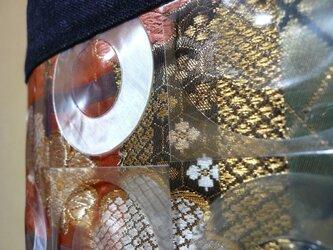 正絹帯×セルヴィッチデニム×ビニールの画像