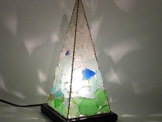 シーグラスランプ ピラミッドランプ L-9の画像