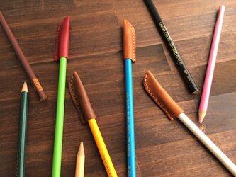 lether pen cap (L)の画像