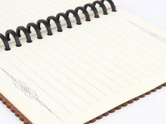 ノートリーフ(木の表紙のノートブック用)の画像