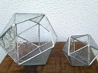★20面体(18ピース)★bigテラリウム(ステンドグラス)の画像