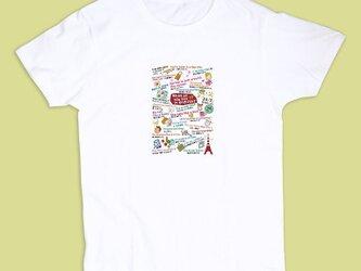 Tシャツ「なるほど英会話フレーズ」の画像