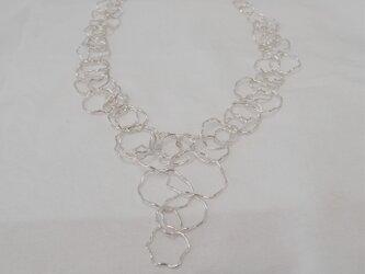 彫刻的 手作りチェーン ネックレス -90-の画像