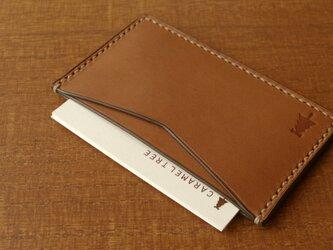 【受注生産】Business Card Case(slim-type)/brownの画像