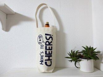 帆布 ボトルBAG ワインの画像