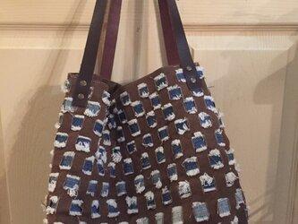 倉敷野菜染めオリジナルバッグの画像