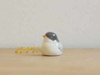 【如月・新作】文鳥 (ツヤ)国産ヒノキの木箱入りの画像