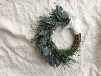 green wreath*01の画像