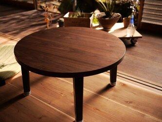[ round table - old school style Re:model ] ラウンドテーブル リモデルの画像