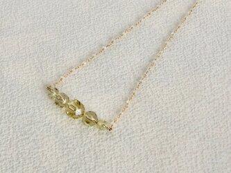 a1701 レモンクォーツのネックレスの画像