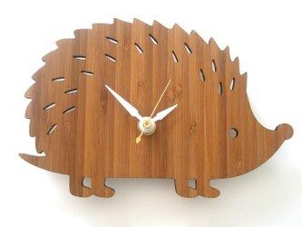 ハリネズミの掛け時計 HEDGEHOG(Sサイズ)の画像