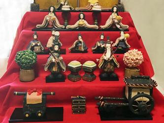 五段雛人形(2018)の画像
