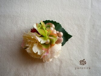 【SOLD OUT】桜色コサージュの画像