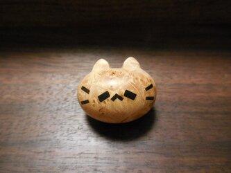 マカンバ(真樺)瘤杢のピンズ ネコノカミの画像