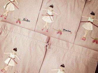 巾着袋(バレリーナシリーズ)の画像