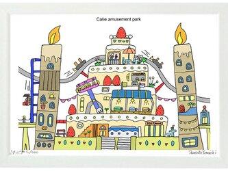 Cake amusement park (A4frame)の画像