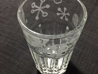 グラスS   雪の結晶の画像