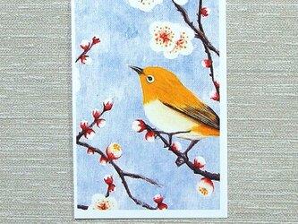 「梅とメジロ・その二」(お好きなポストカード2枚)の画像