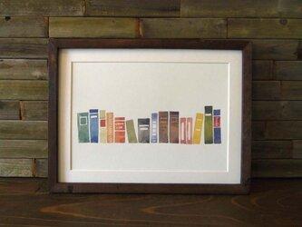 ゆる絵 books  A4 + 額の画像