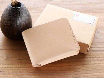 ハンドメイド 財布 本革 牛革 レディース 手作り 高級感 レザー  人気 かわいい おしゃれ AB34の画像