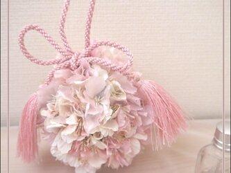 桜のポールブーケの画像