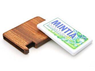 木で作った MINTIA専用木製ケースの画像