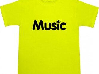 Music Tシャツの画像