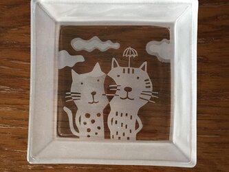 角皿  シアワセの画像