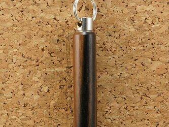 木製アロマペンダント・黒檀(ロング)の画像