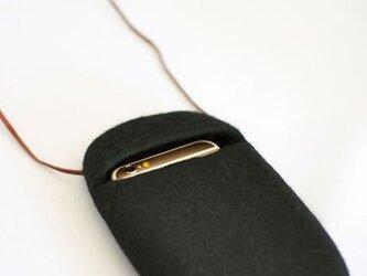 cocoon(黒)Lサイズ※ポケット付の画像