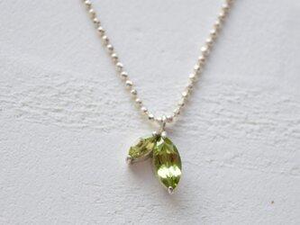 【若葉】-wakaba necklace-の画像