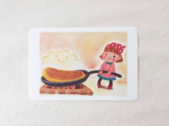大きなホットケーキ ポストカードno.018の画像