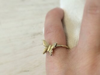 ★sale★garden butterfly ring #5【FR021】の画像