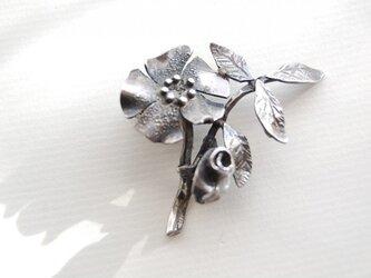春・花のブローチ[SILVER950]の画像