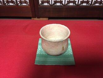 抹茶茶碗 (志野焼)の画像