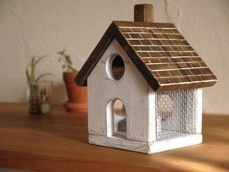 小人の家のキャンドルホルダーの画像