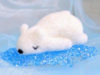 シロクマだって眠いんです「たれしろくま(氷付)」の画像