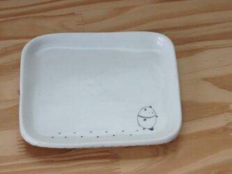 おさんぽパンダ 角皿の画像