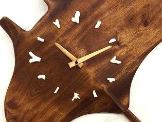 マンタの掛け時計(小)の画像