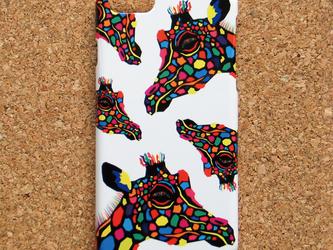 iPhone7/SE/6s/6/5s/5/5s/5c/Android スマホケース 北欧 動物 キリン H3201の画像