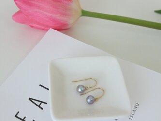 silver pearl piarce -Bの画像