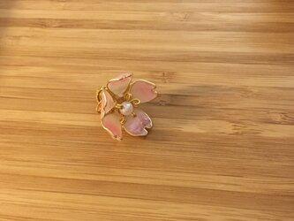 《受注制作》桜のタックピンの画像