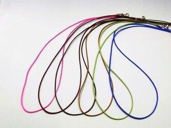 ネックレス◆New Simple WAXコード 1mm幅◆ANGEL FACTORY lalalady-31の画像