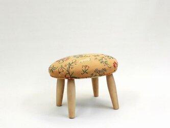 たまごすつーる chu    フランス動物黄色 イエロー ゴブラン織りの画像